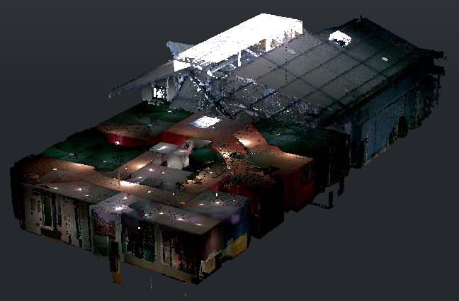 modelisation scanner laser