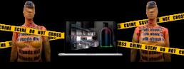 modelisation scene de crime scanner laser 3D
