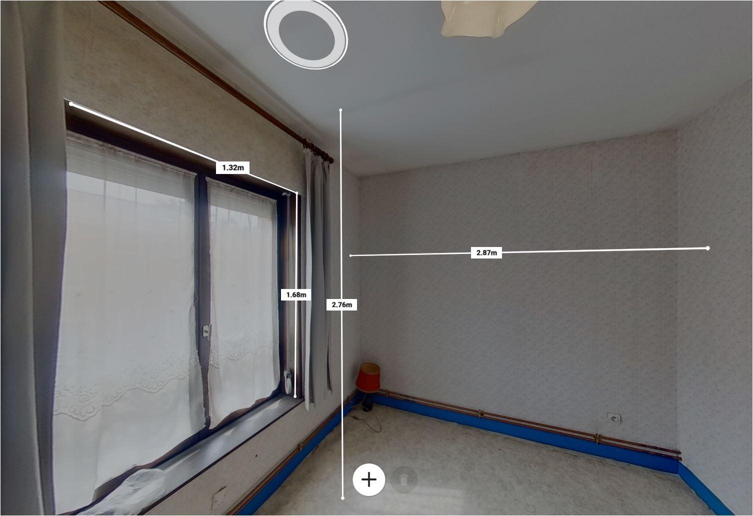 mesure dans une visite virtuelle
